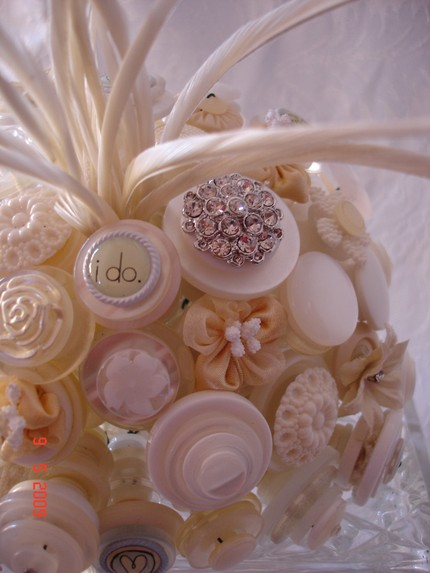 The Classic Button Boquet $130 from Letters 4 Lily- Etsy