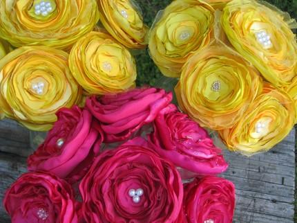 Bridal Bouquets $95+ from Jillian's Shop- Etsy