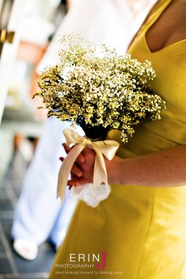 Bridesmaid bouquets...