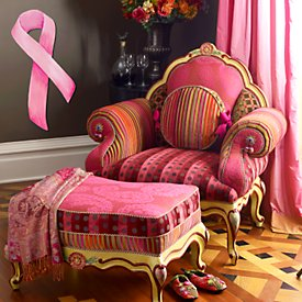 Pink Diva Chair