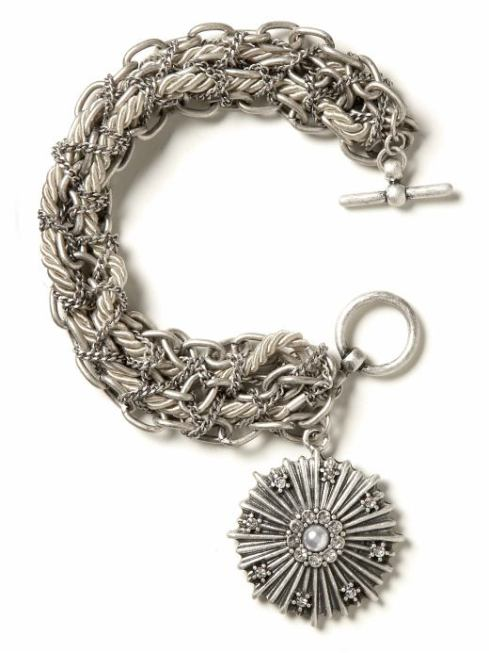 Royal Medallion Charm Bracelet $36- Banana Republic