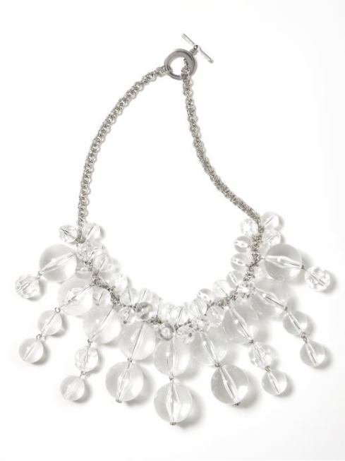Champagne Bubbles Necklace $55- Banana Republic